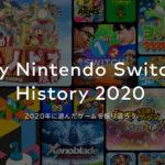 My Nintendo Switch History 2020 をみてみる